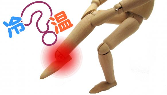 足首の捻挫の模型