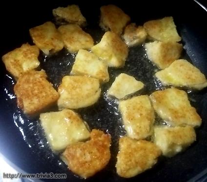 さつま芋のチーズ風天ぷら