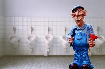 トイレの修理工