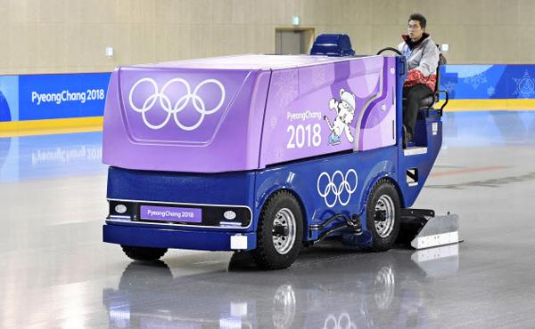 平昌オリンピック 製氷