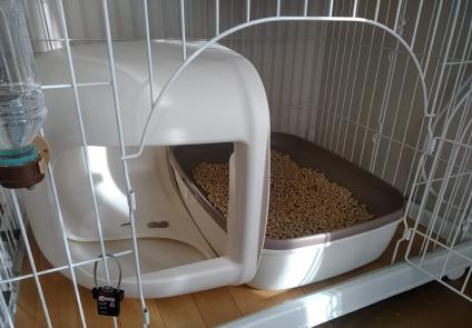猫トイレ ケージ