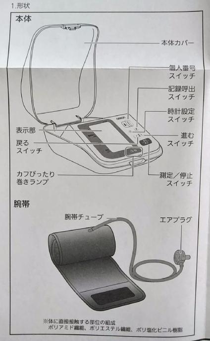 オムロン 血圧計 7310 取説