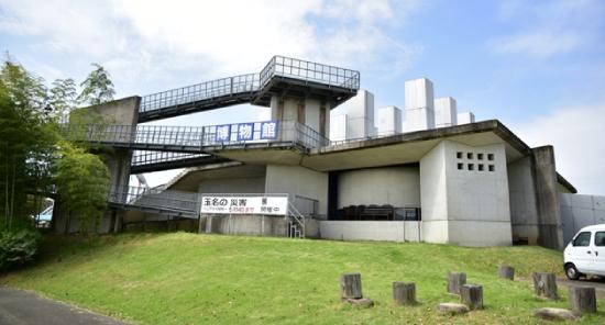 玉名市立歴史博物館こころピア外観