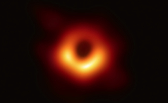ブラックホールのオレンジのリング