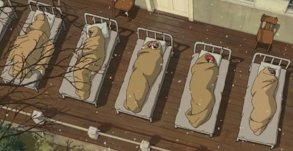 風立ちぬの入院する菜穂子