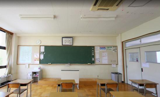 ポカリのロケ場所となった教室